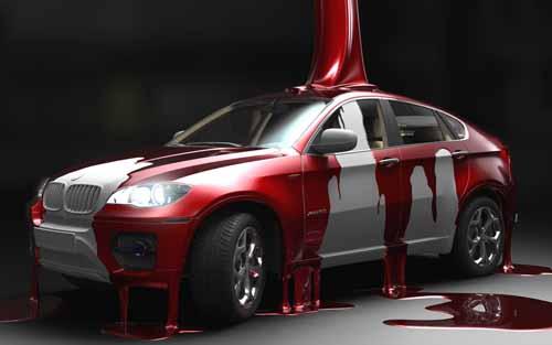Особенности покраски автомобиля