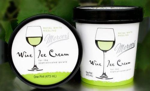 Мороженое из вина
