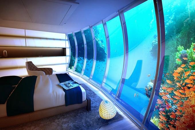 4 отеля под водой