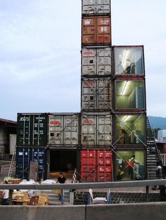 магазин из контейнеров